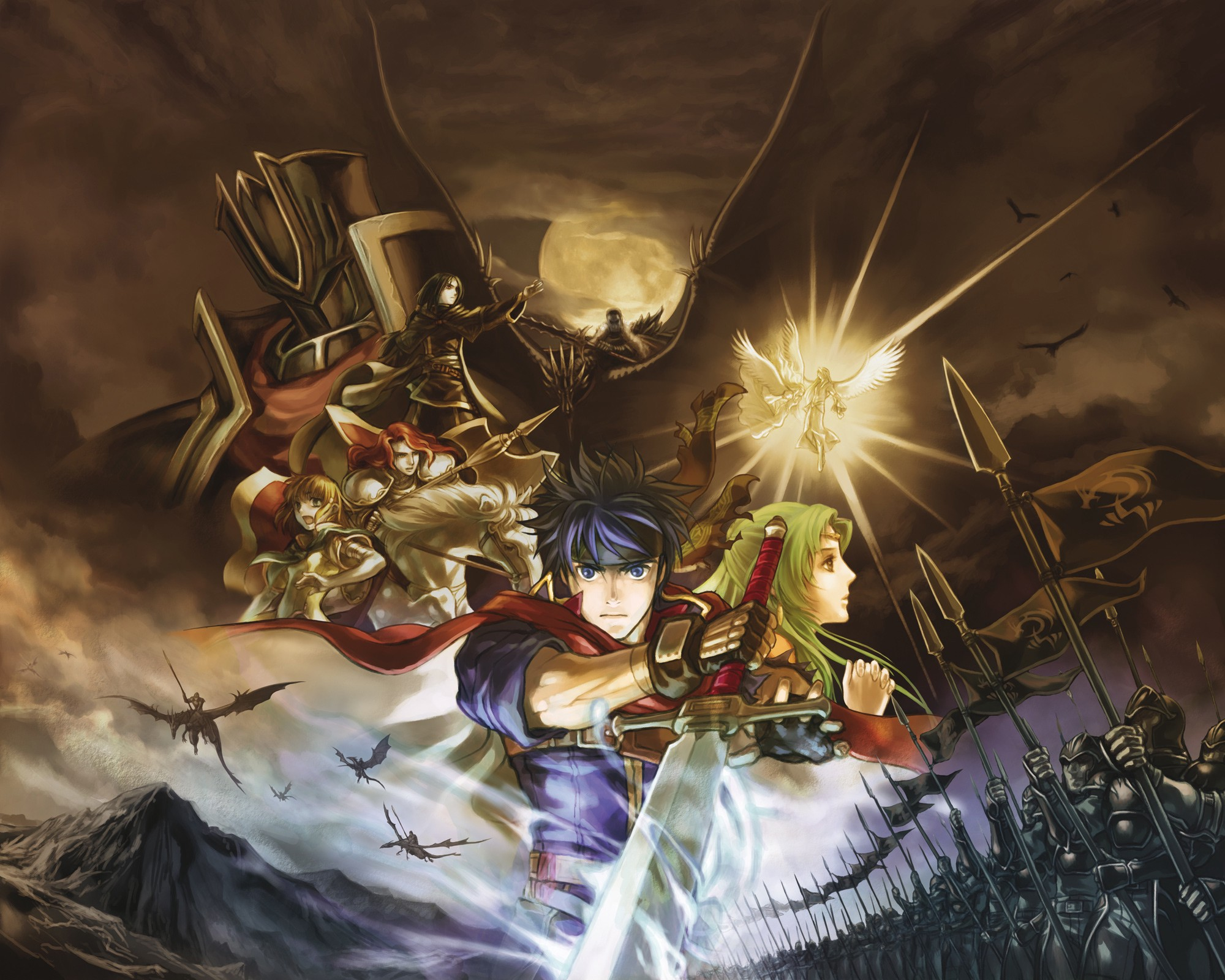 play fire emblem path of radiance online