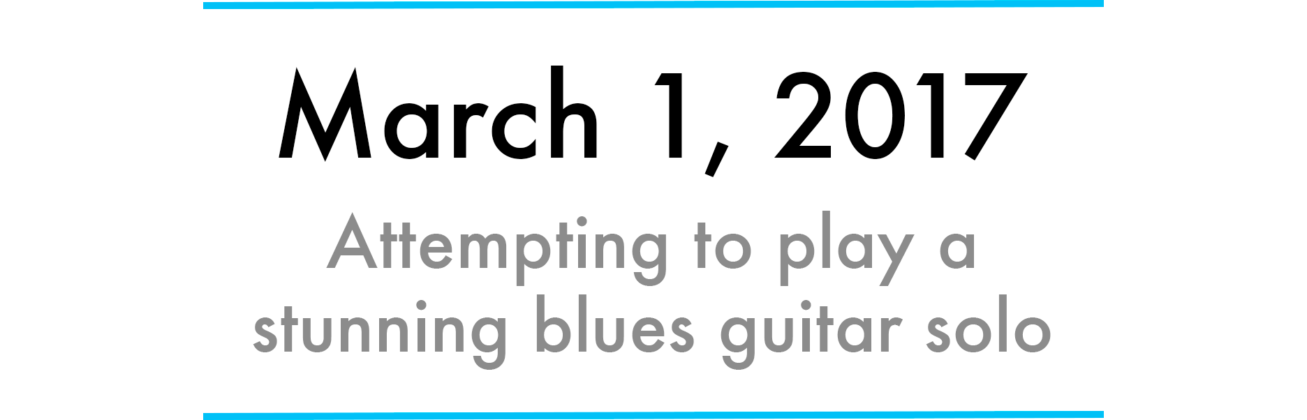 9eee1967e80f How to become a master of improvisational blues guitar in one month