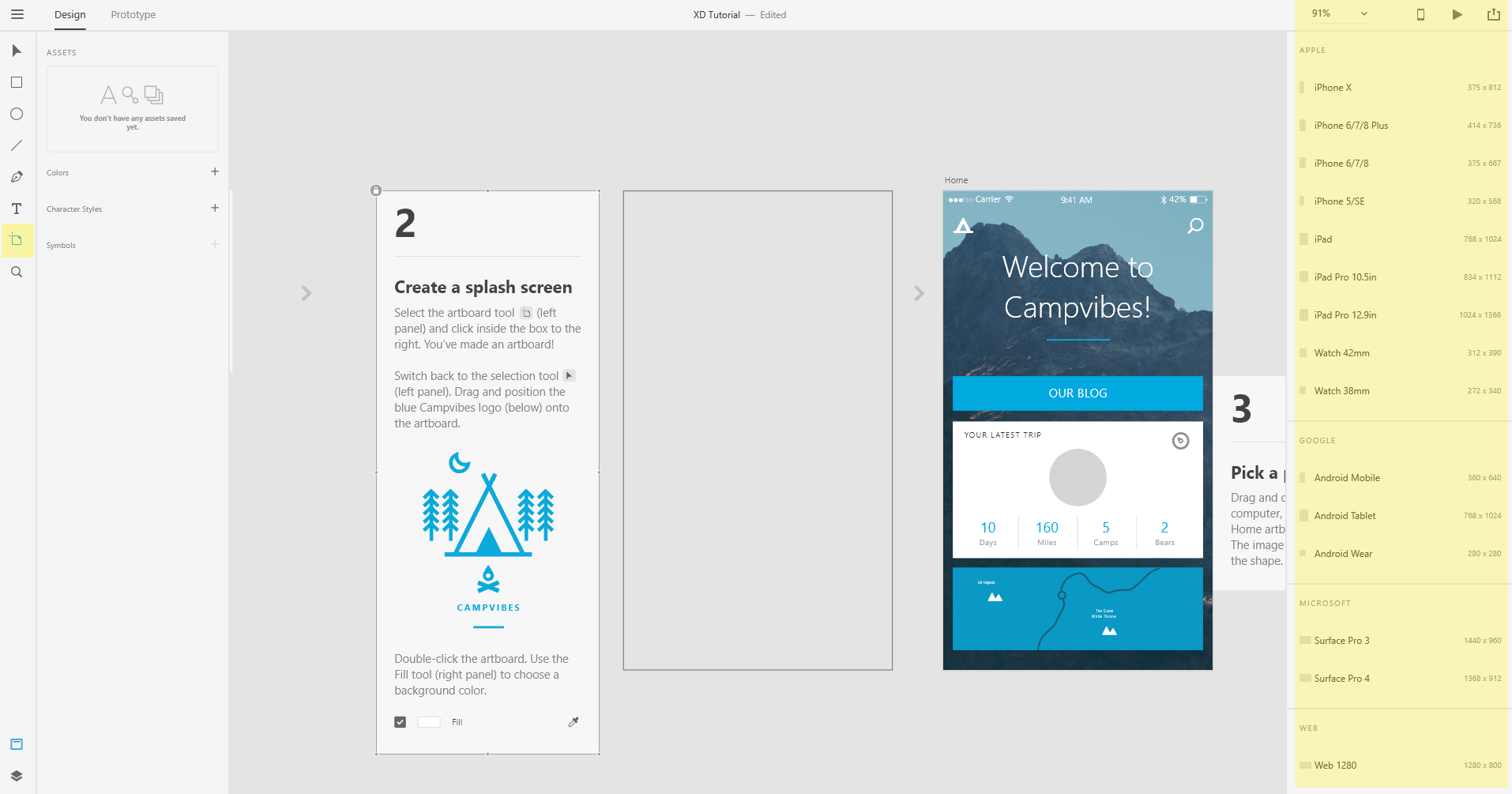 Learning The Basics Of Adobe Xd In One Hour Drill Medium