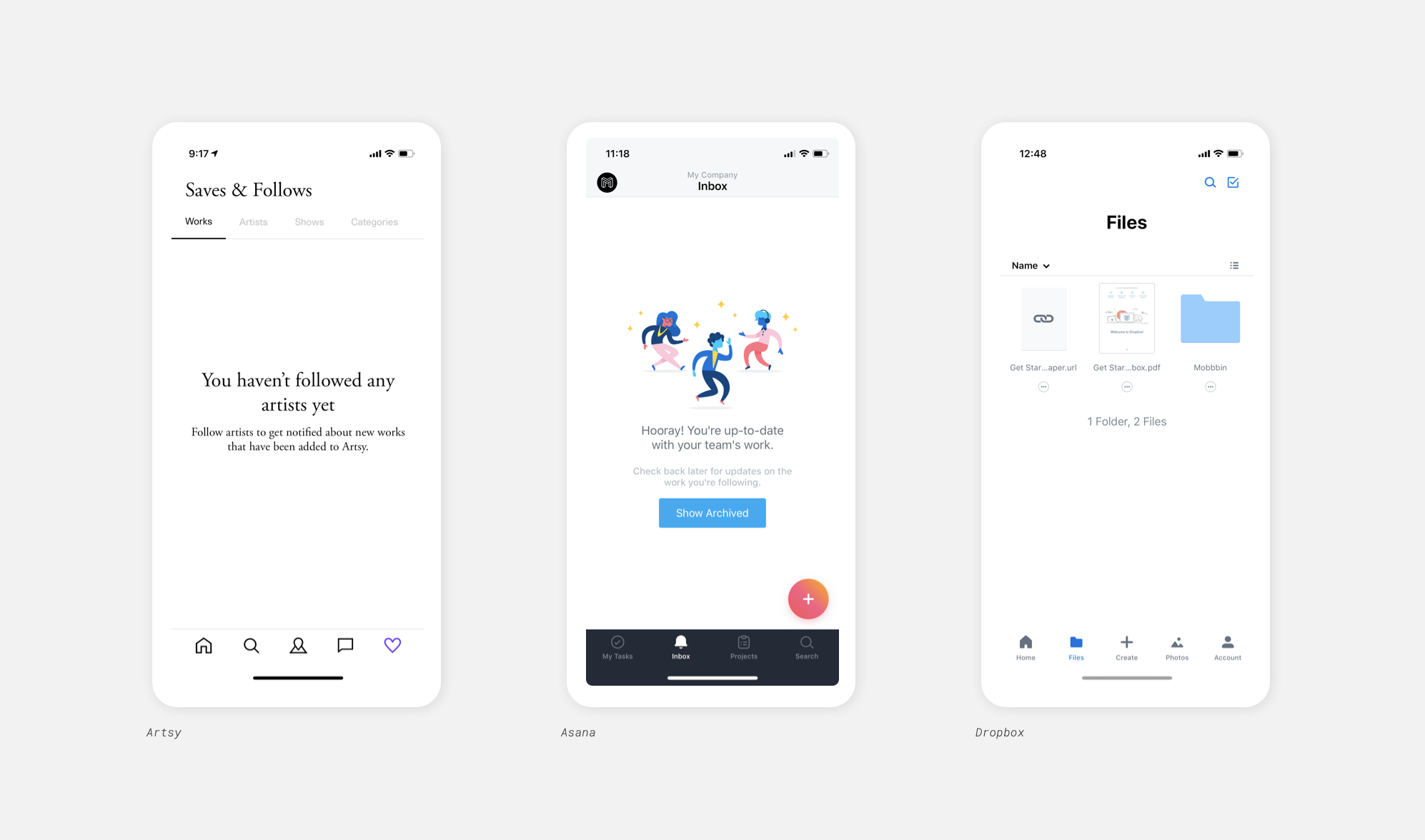 State of mobile app design 2019