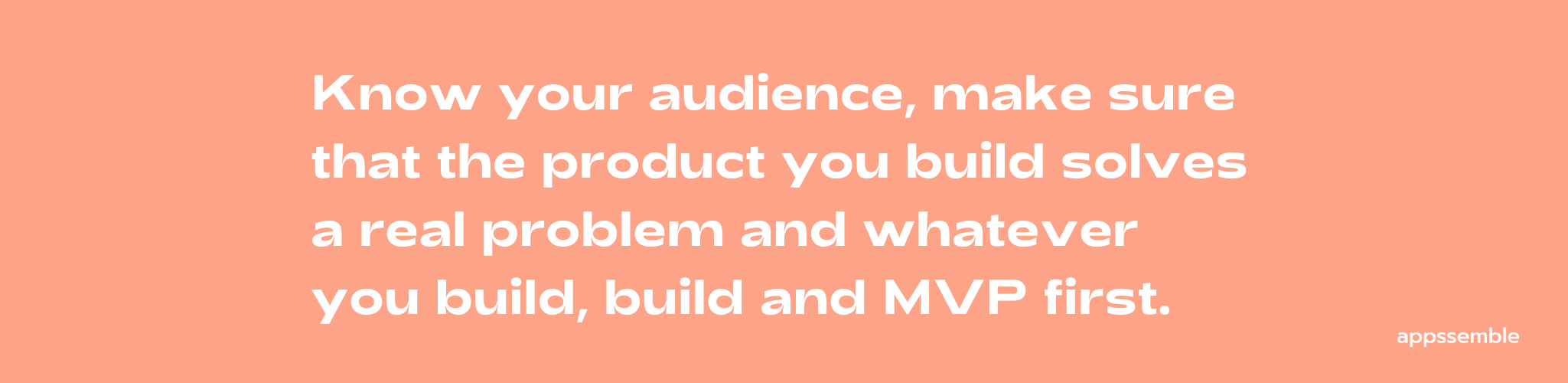 how to build a mobile mvp
