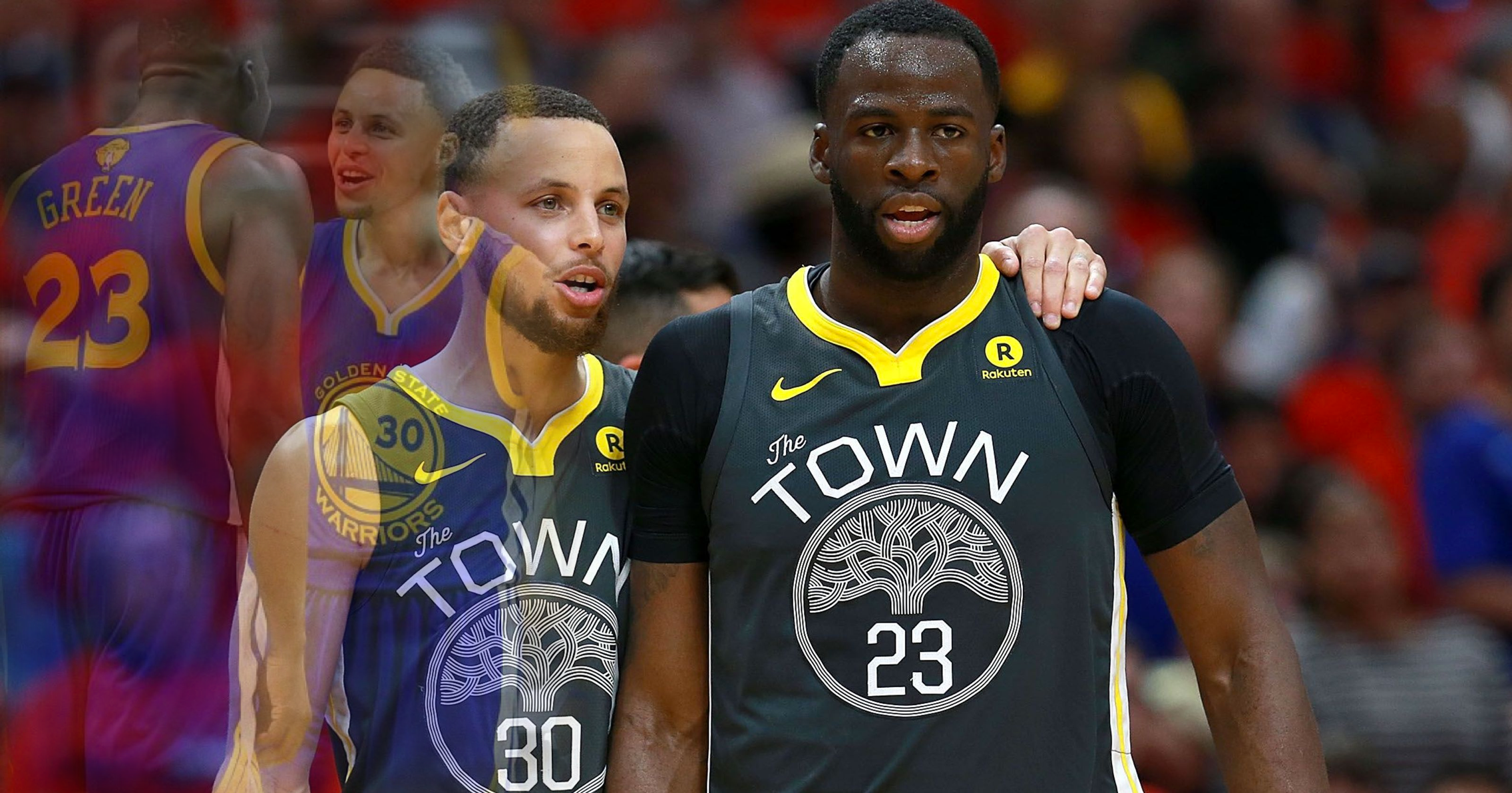 72bdac494827 Blast from the past  How Stephen Curry and Draymond Green executed ...