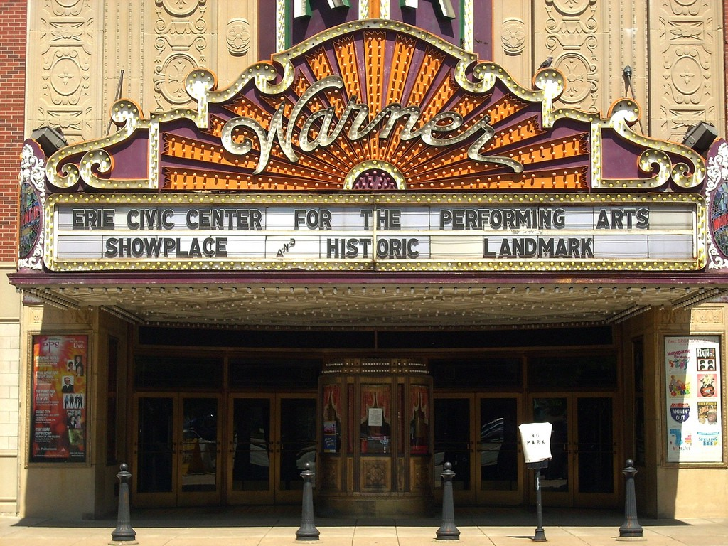 Erie Pennsylvania's Warner Theatre: The show must go on