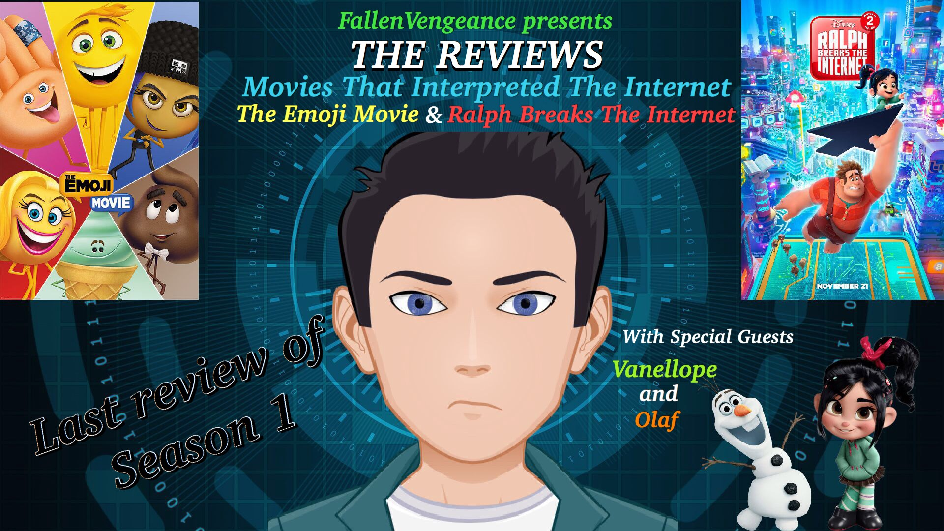 7ac25b67e390 THE REVIEWS EPISODE 26  MOVIES THAT INTERPRETED THE INTERNET (THE EMOJI  MOVIE   RALPH BREAKS THE INTERNET) (Season 1 Finale)