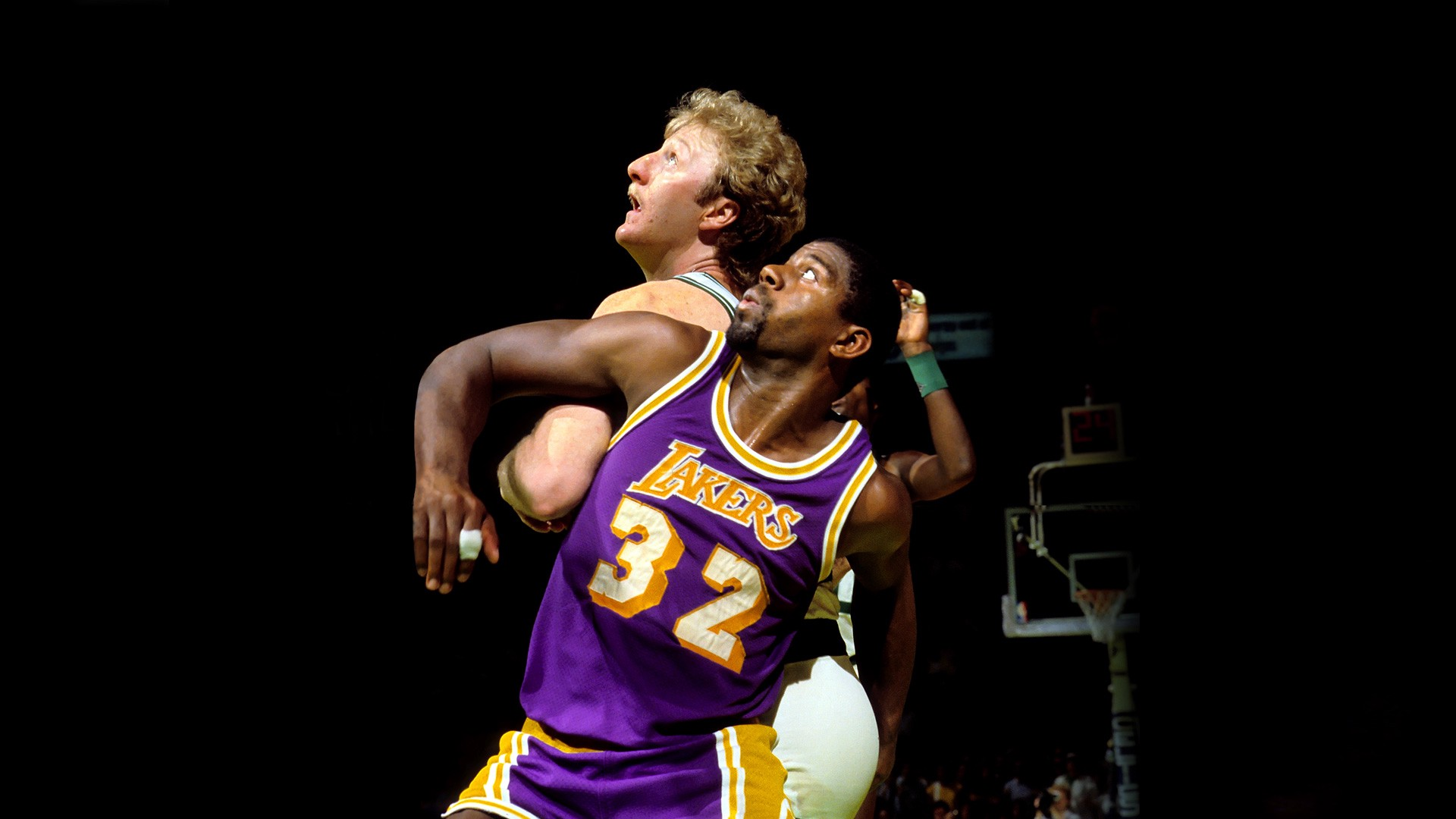 be8247dfa829 The NBA is always trying to invent rivalries. In the 1980s