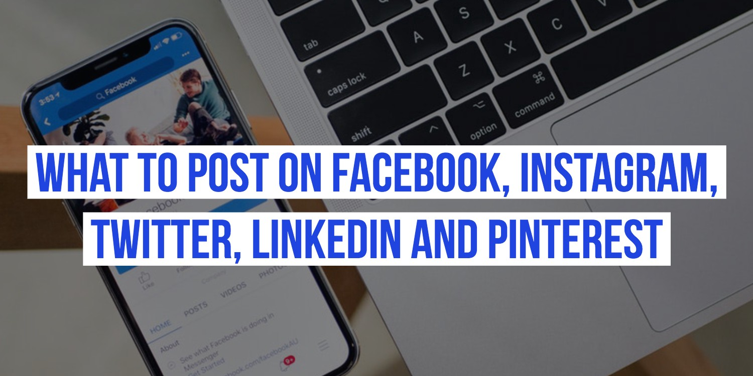 9de5b4d88f9 Most marketers in order to save time and resources share the same social  media post across channels. Irrespective of what the post is — a product  review