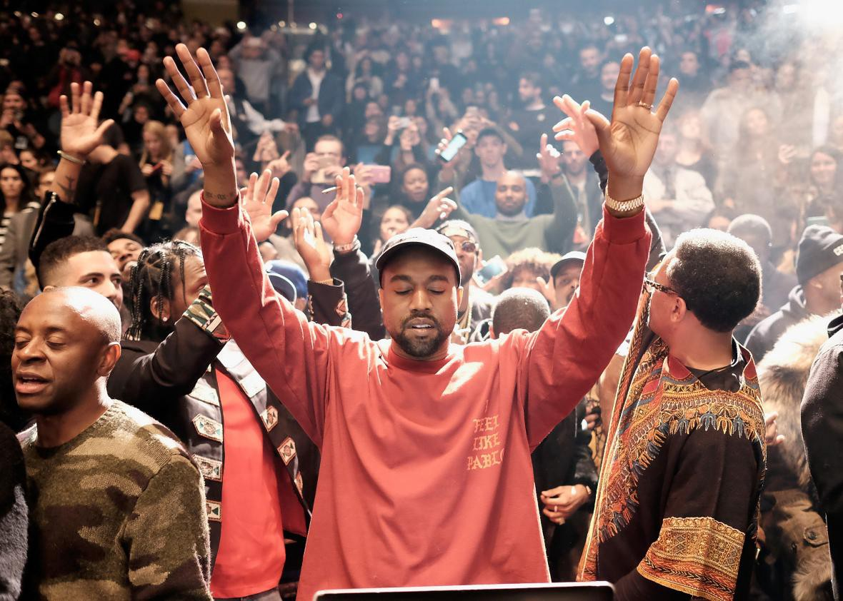 b25f2a19f5f Throughout the duration of his career, where there is Kanye West,  controversy seems to follow and the release of his seventh studio album,  The Life of Pablo ...