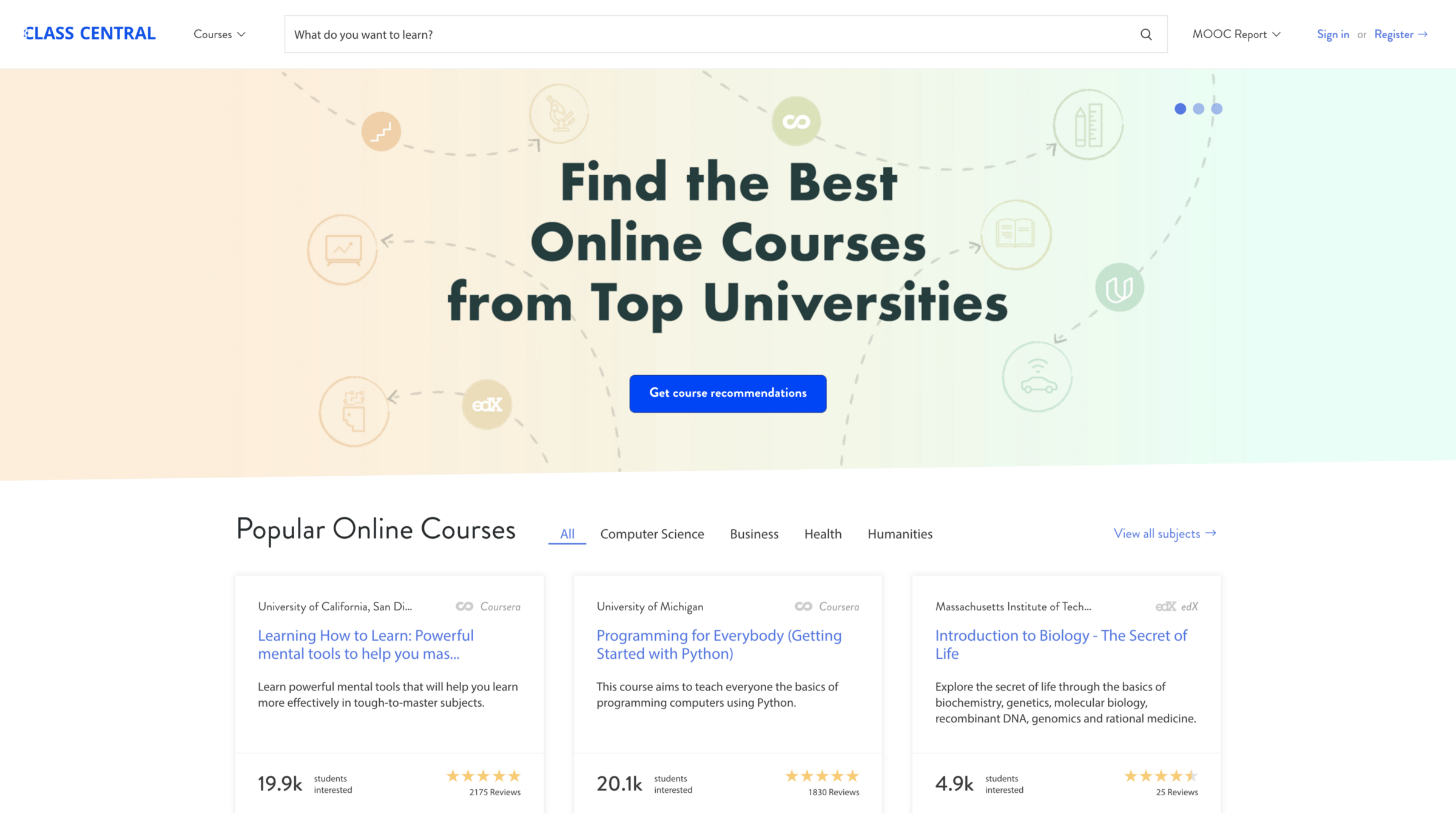 190 universities just launched 600 free online courses. Here's the full list.