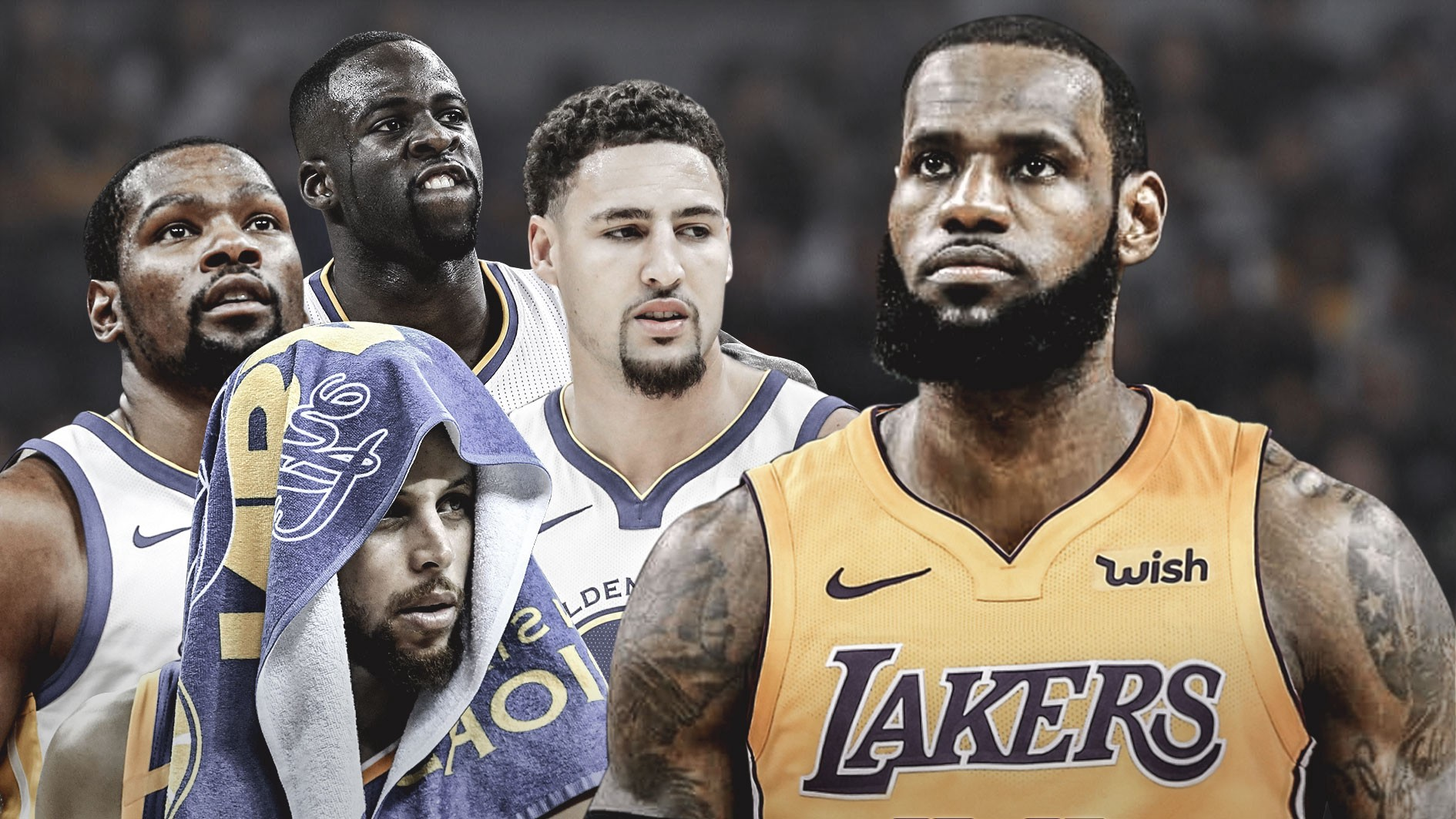 6f0db547bd6 For the fourth consecutive Christmas, LeBron James will go to war with the  Bay Area supervillains. His arrival in Los Angeles has relocated this  rivalry ...