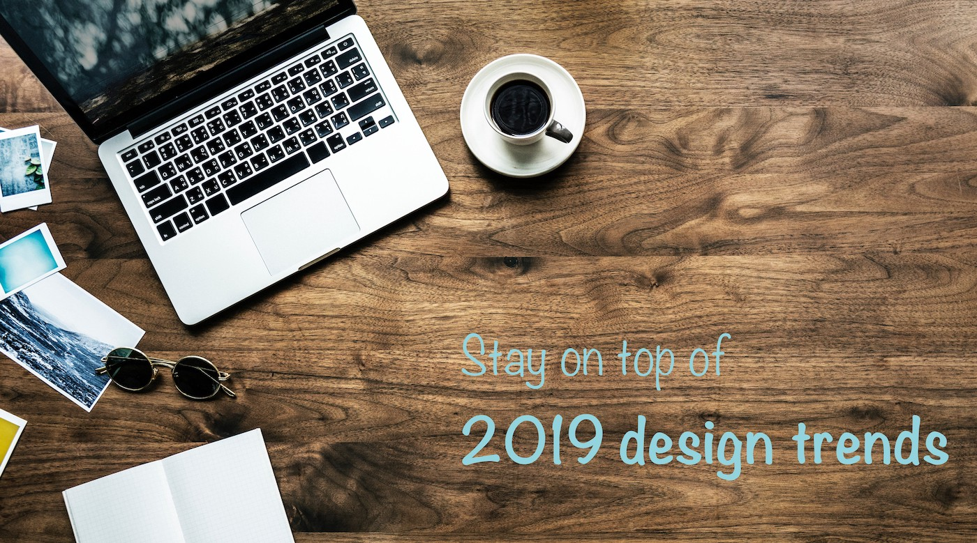Stay on top of 2019 design trends by following these UX & UI blogs