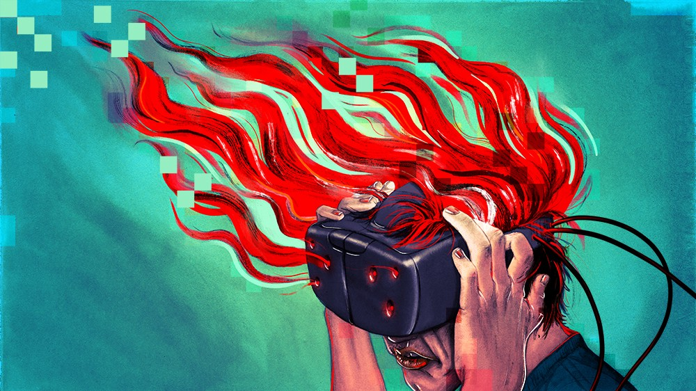 c1276db0b7f7 When Working in Virtual Reality Makes You Sick – Great Escape – Medium