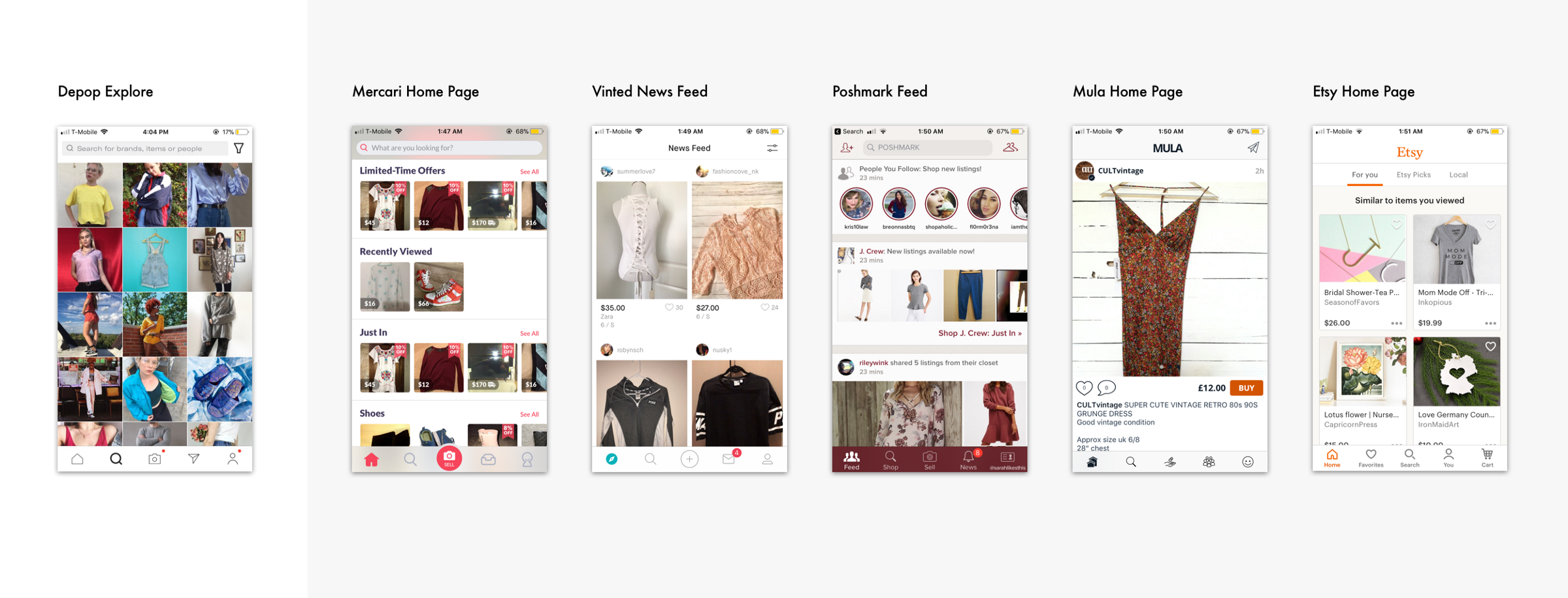 3b3e800ce887 How do Depop's competitors in the social shopping sphere help users  discover items they care about?