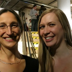 The Common's Jennifer Acker and Katherine Hill, author of The Violet Hour