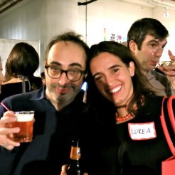 Sorry I put my shadow on you, Gary Shteyngart and Lorea Canales