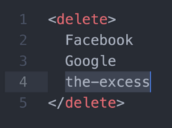 Becoming a Deletist