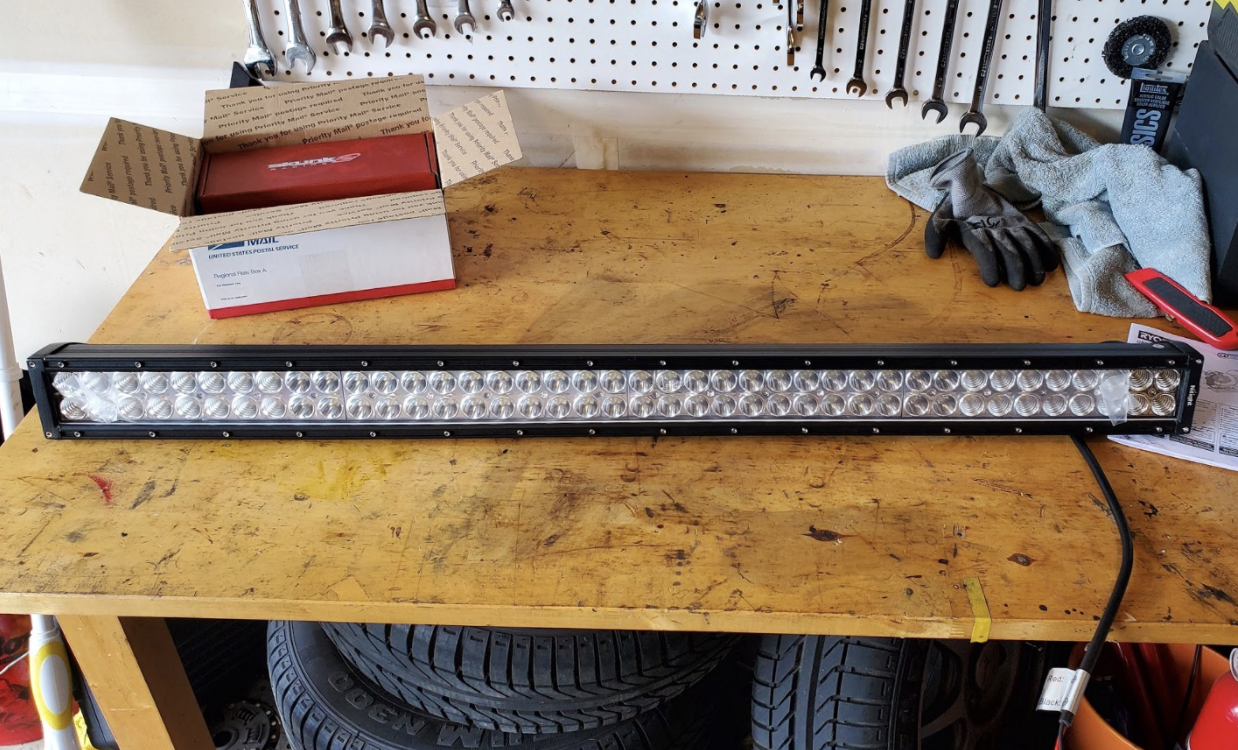 image from How to Install an LED Light Bar