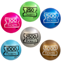 TICKET BALLS ARE HERE — Hottest crane item since Kobby Balls!