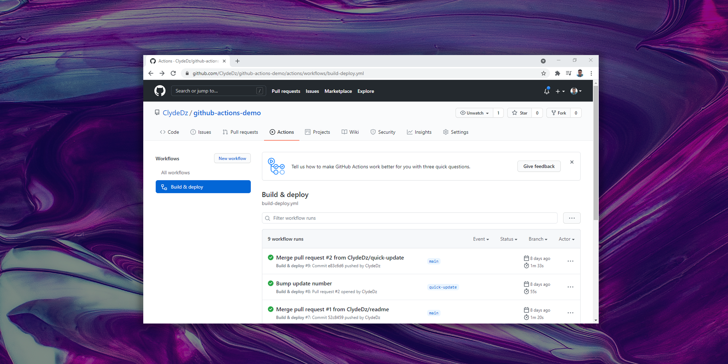 Fundamentals of GitHub Actions
