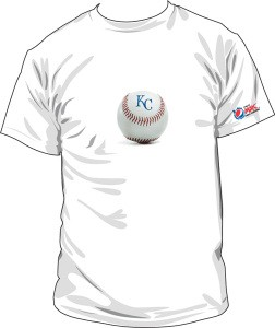 Ballpark blueprint t shirt tuesday mania royal rundown tonights 710 pm royals white sox game kicks off the first t shirt tuesday of the season the first 10000 fans will receive a classic royals baseball malvernweather Image collections