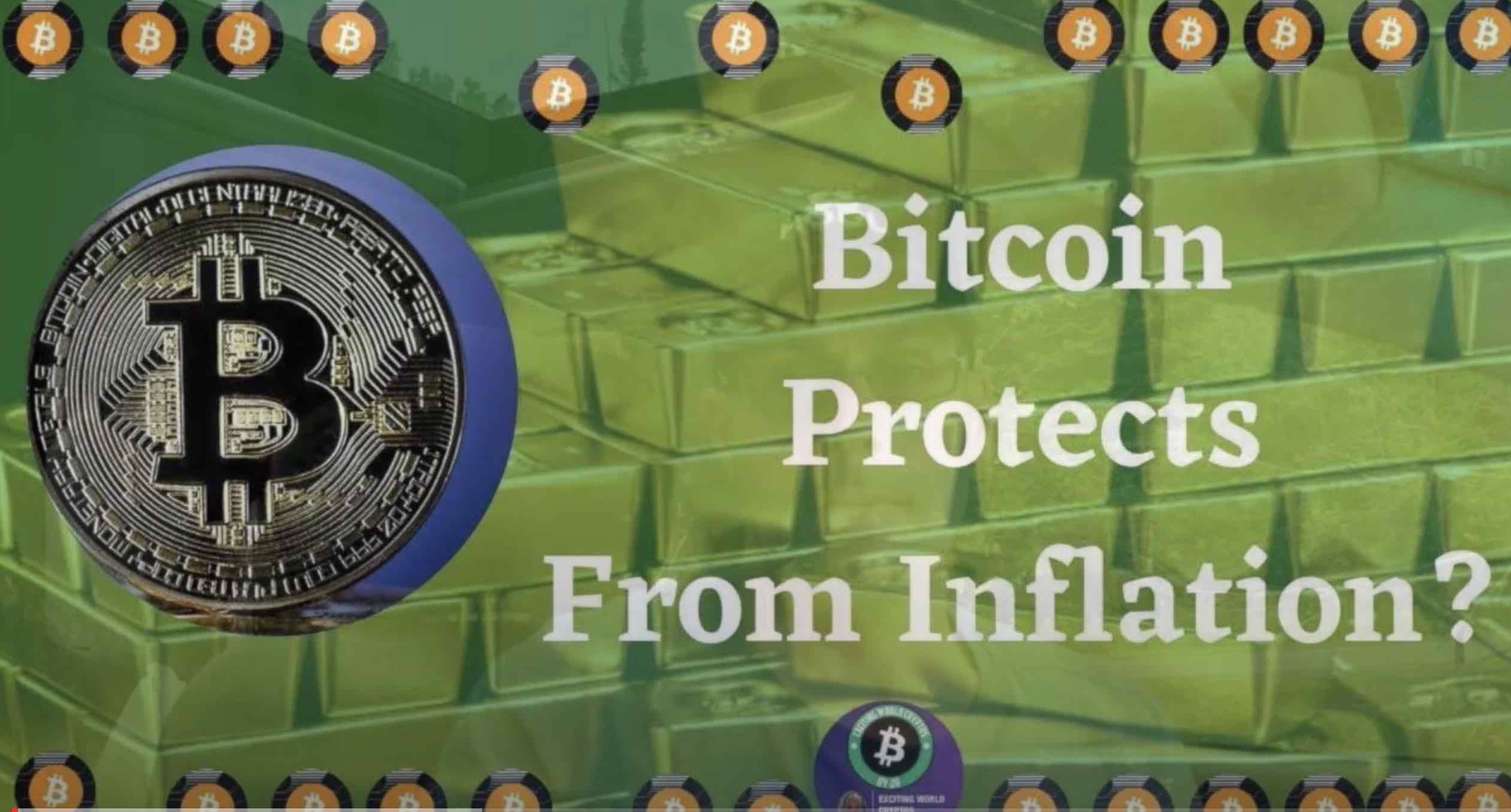 Bitcoin Reduces Inflation