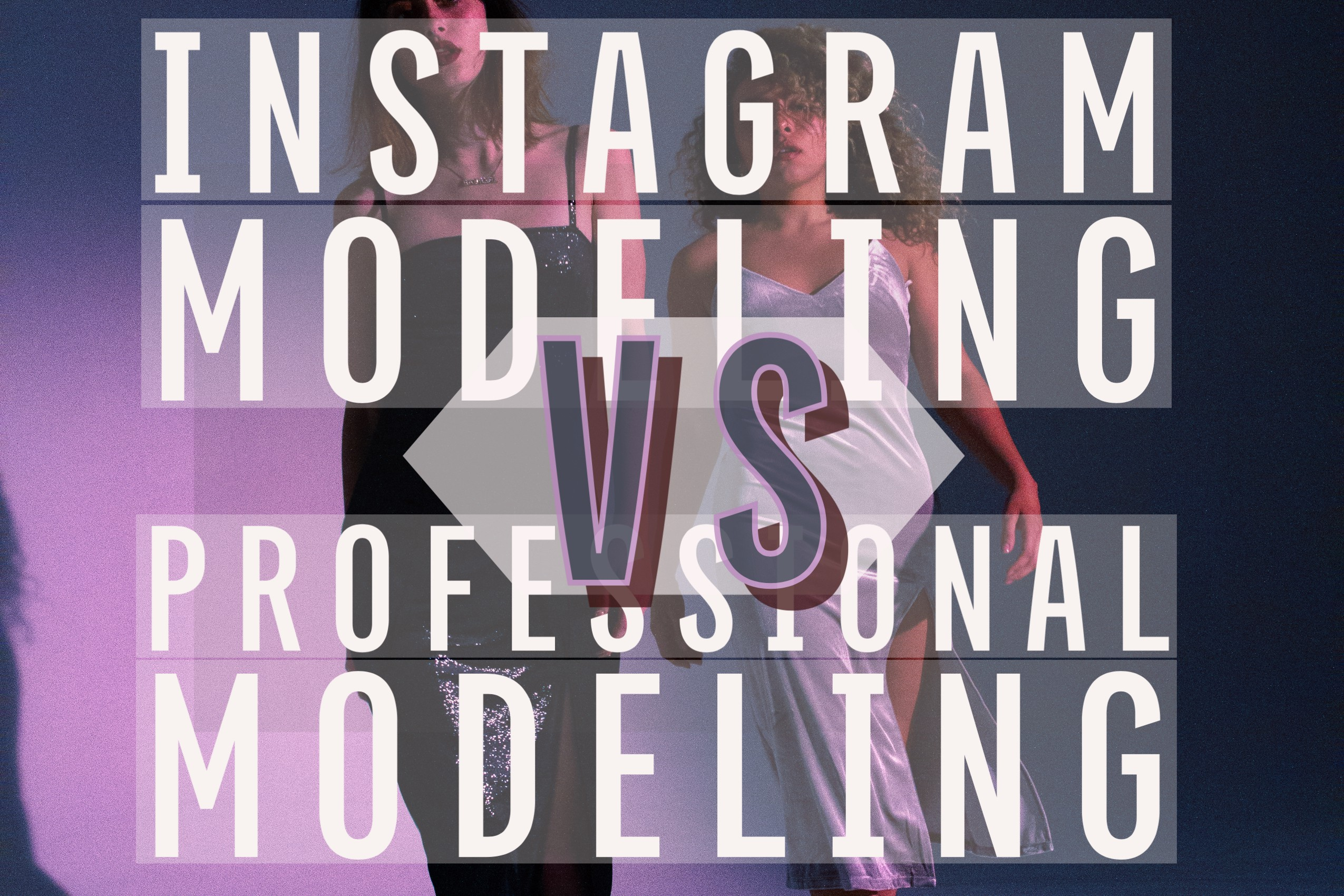 What Is The Difference Between Social Media Modeling and Professional Modeling By Demarcus O'Dell…