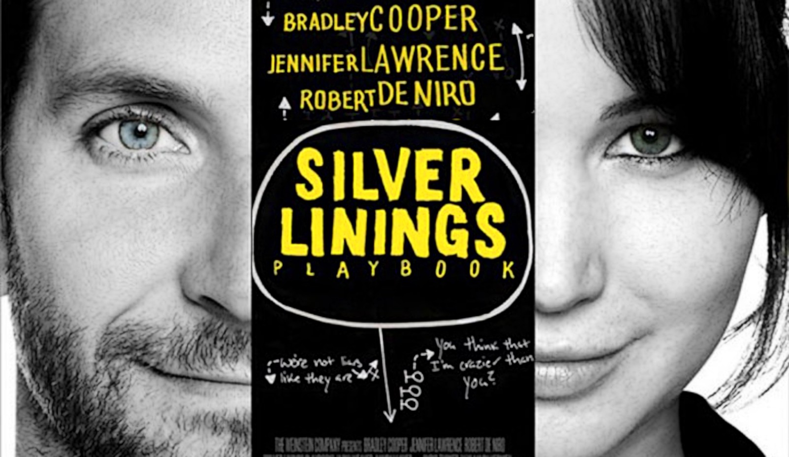 Bradley Cooper Jennifer Lawrence silver linings playbook