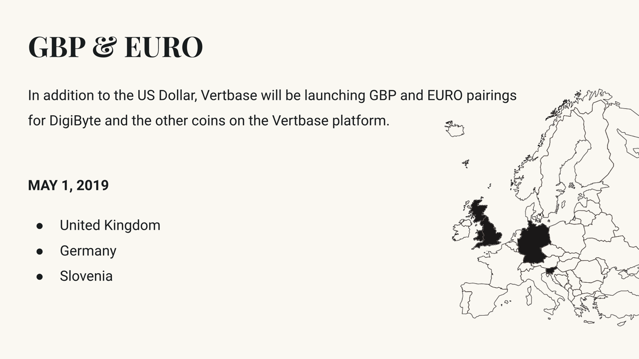 medium.com - Vertbase - Vertbase to launch Euro and GBP trading for digital currencies on May 1, 2019