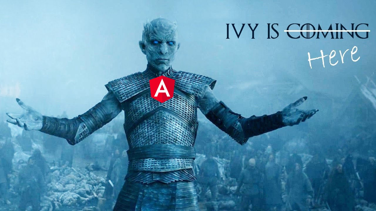 All you need to know about Ivy, The new Angular engine!