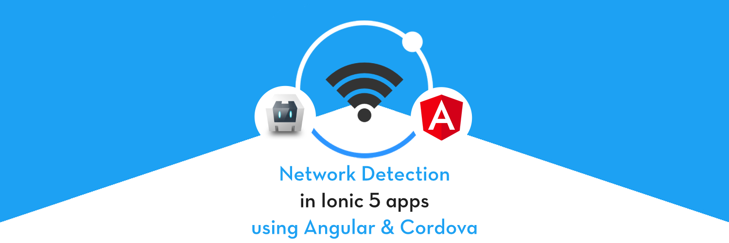 Network feature in Ionic 5 application—Detect WiFi and data connections