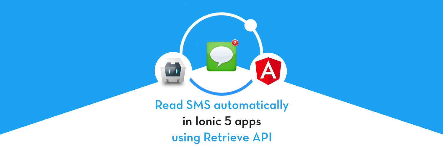 How to automatically read SMS in Ionic 5 apps