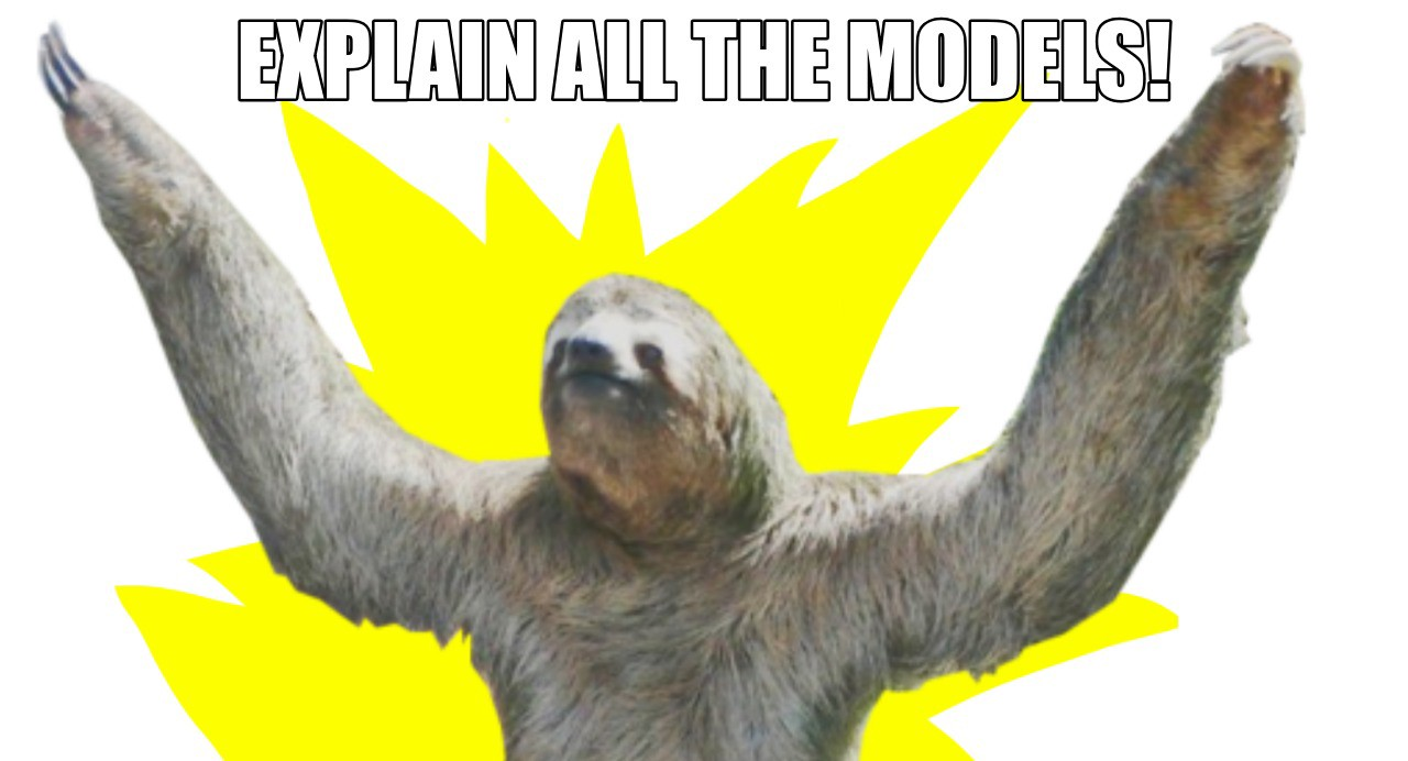 Hey, just because sloths are slow doesn't mean they aren't awesome. Meme by my procrastinating self.