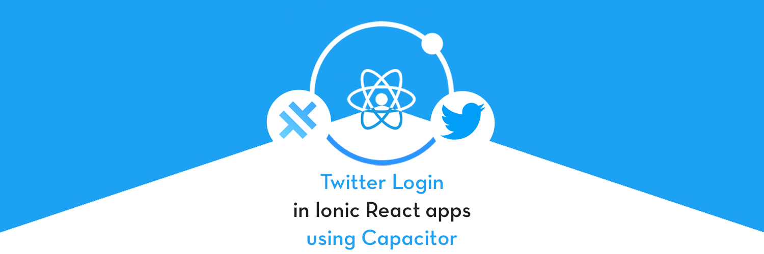 Twitter login in Ionic React Capacitor App