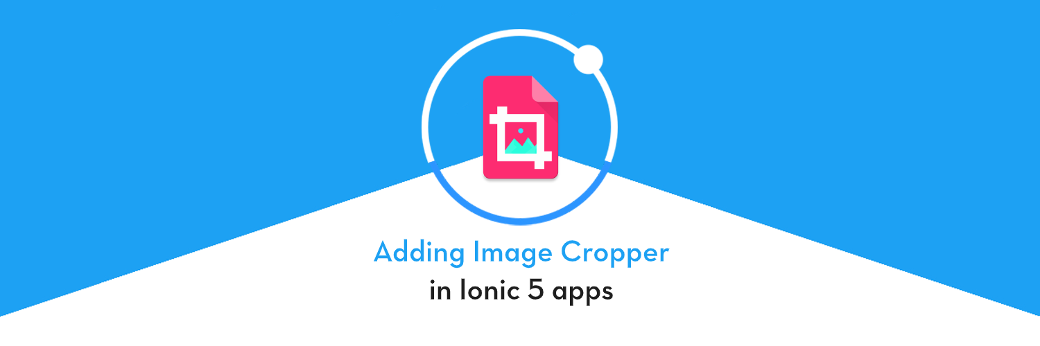 How to add Image Cropper in ionic 5 app