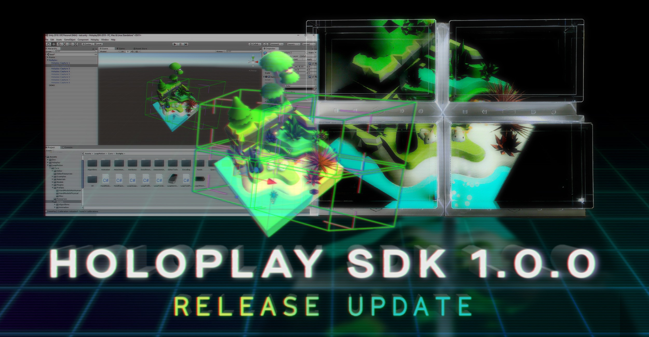 HoloPlay Unity SDK 1 0 0 — Through the Looking Glass