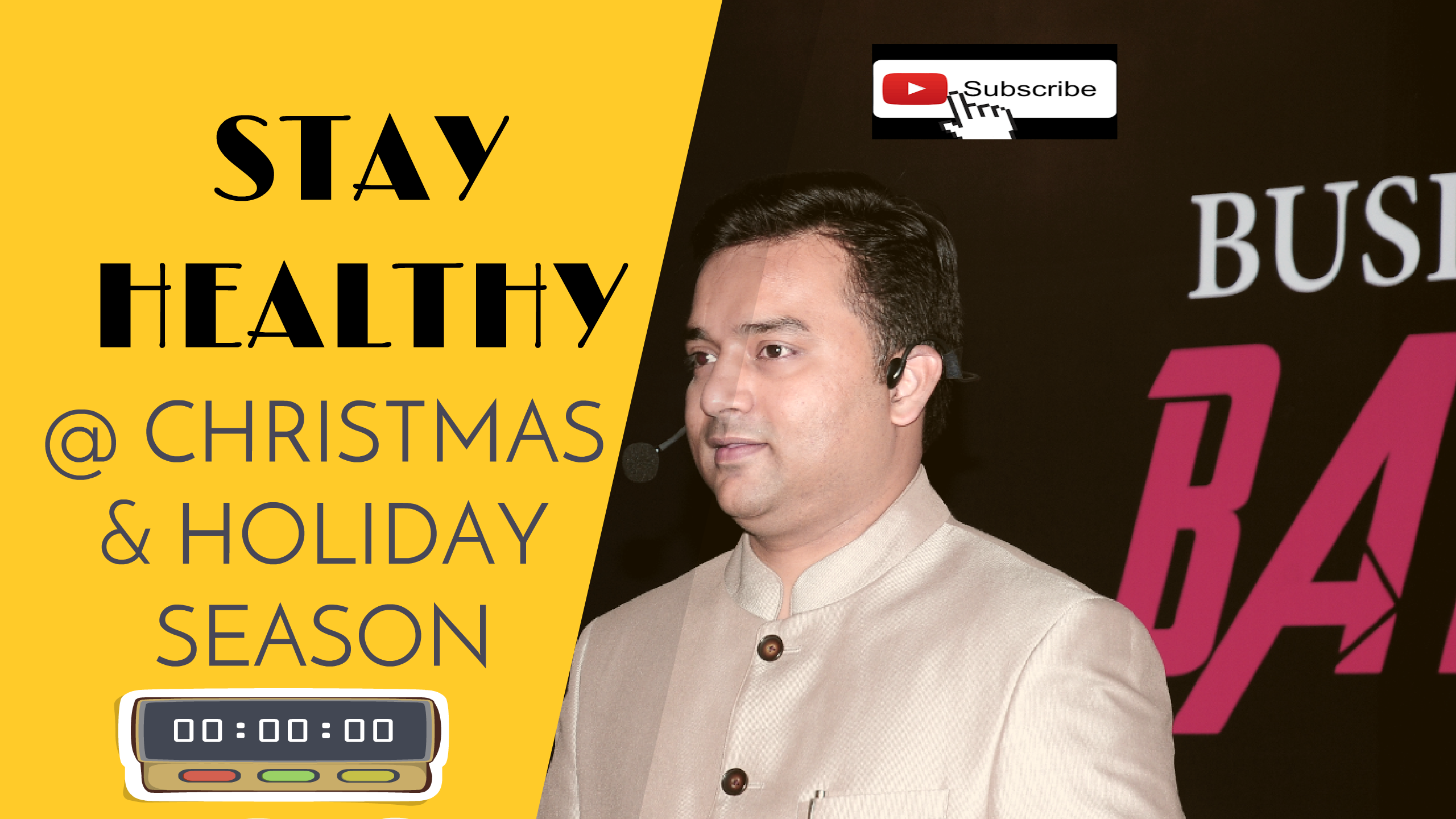 How to stay Healthy during the Christmas and Holiday season?
