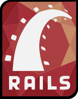 English: Ruby on Rails logo