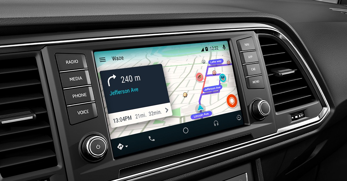android auto touch app
