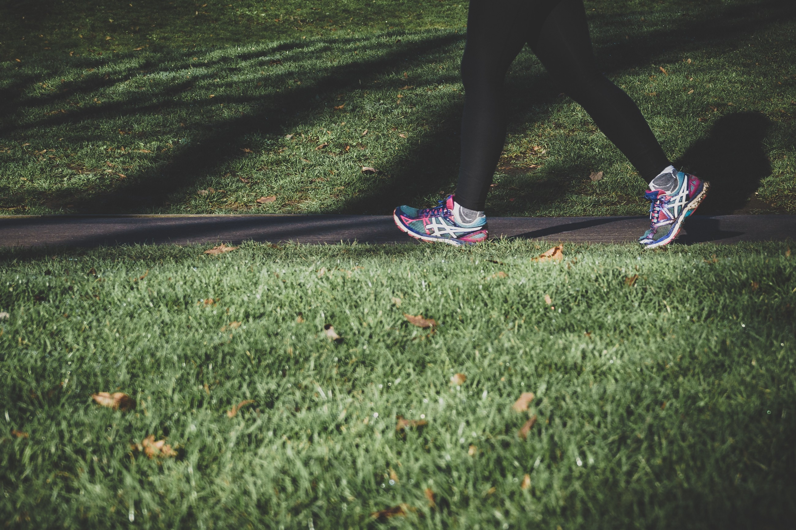 An early step towards your bliss: How walking relates to all the eleme