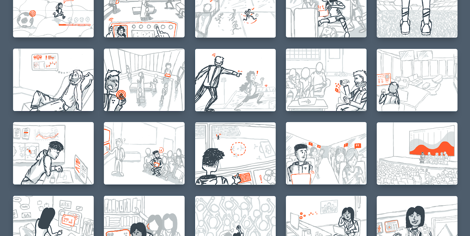 8cfd2ac91 How We Used Storyboards to Make Our Company Vision More Tangible
