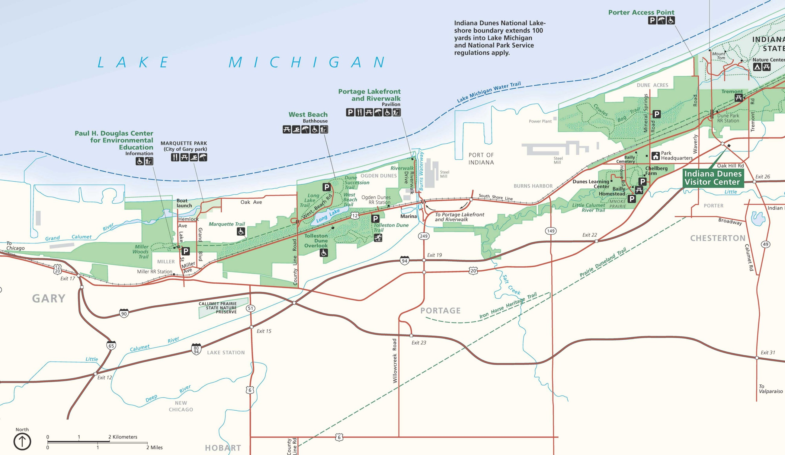 No Equal Opportunity To Fish In Lake Michigan In Gary Indiana