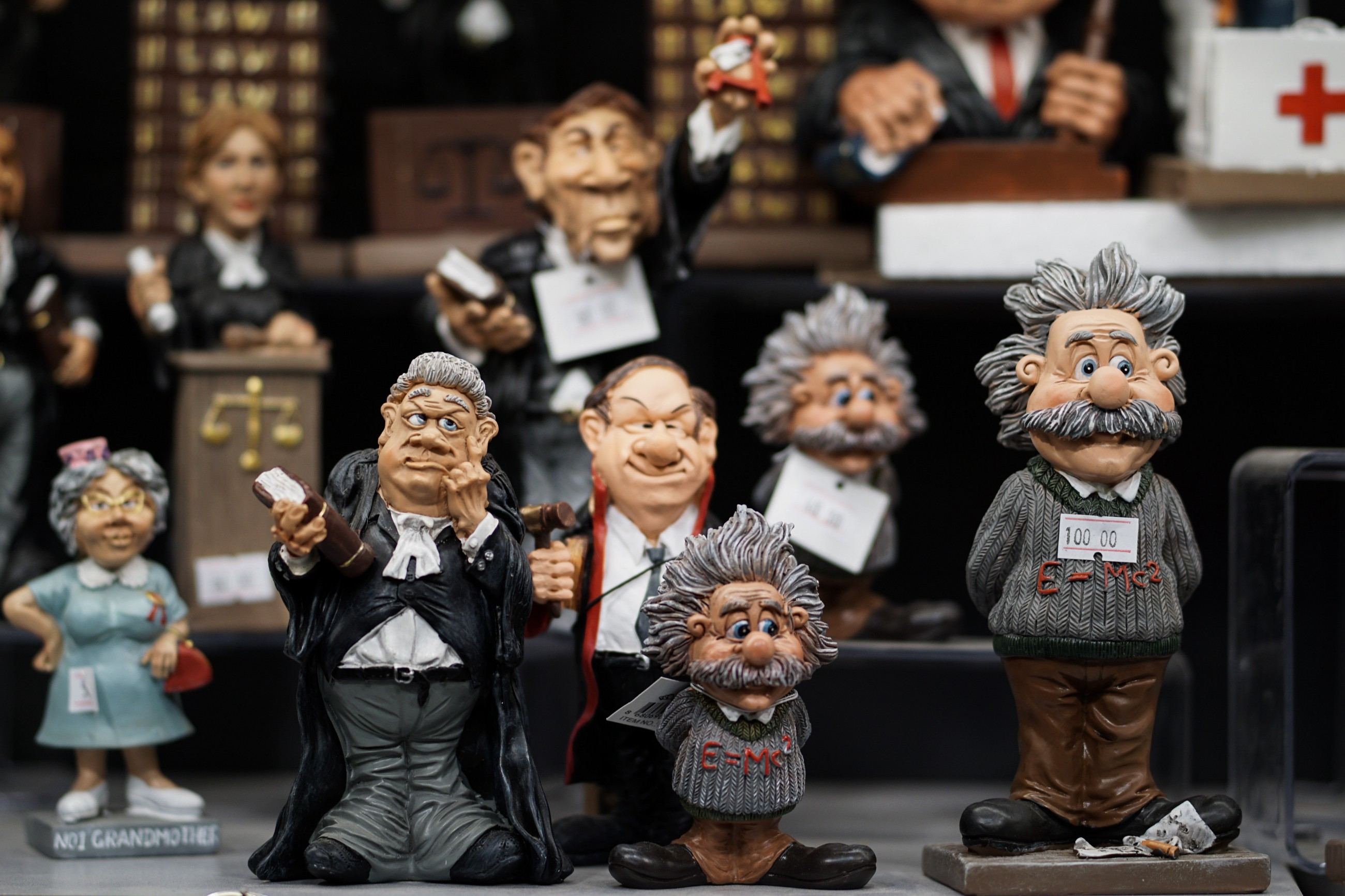 Albert Einstein In His Famous  Essay On Race The Negro Question Assorted Ceramic Figurines By Ugur Peker On Unsplash Custom Writting Service also Lab Report Writers Best  High School Argumentative Essay Examples