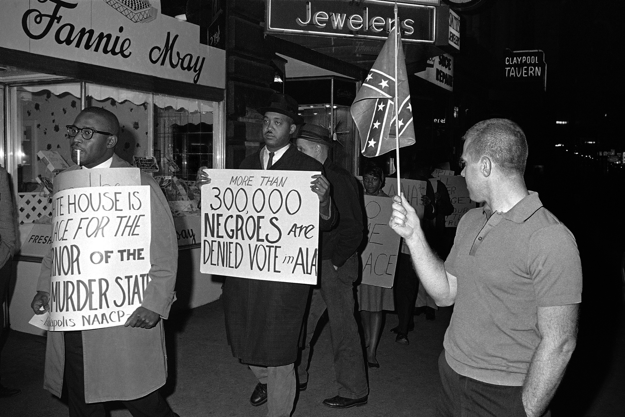 White politicians were coercing African Americans to vote long before civil rights