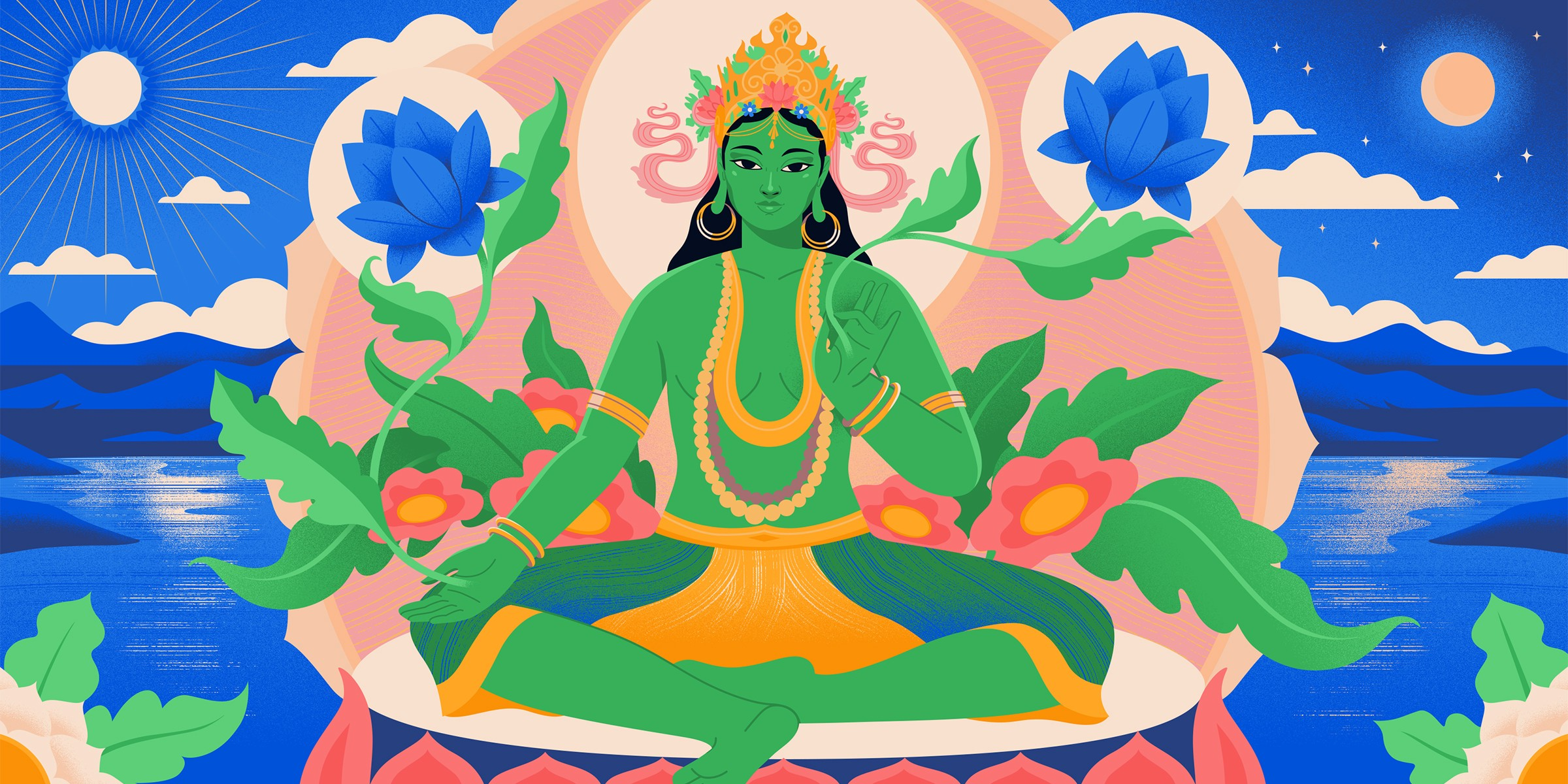 A Goddess for Fostering Kindness and Compassion