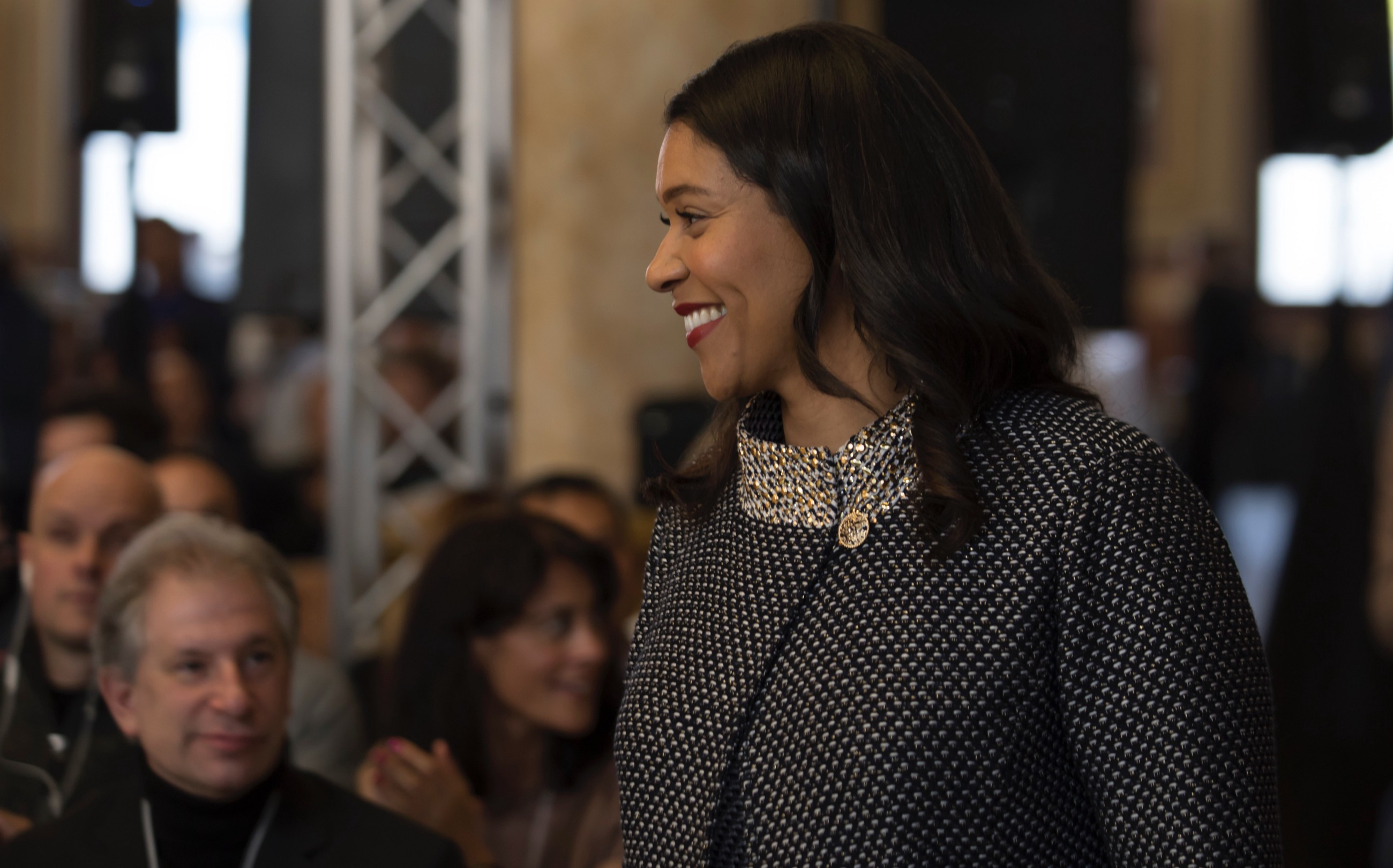 London Breed Keeps Banging the Drum on Housing