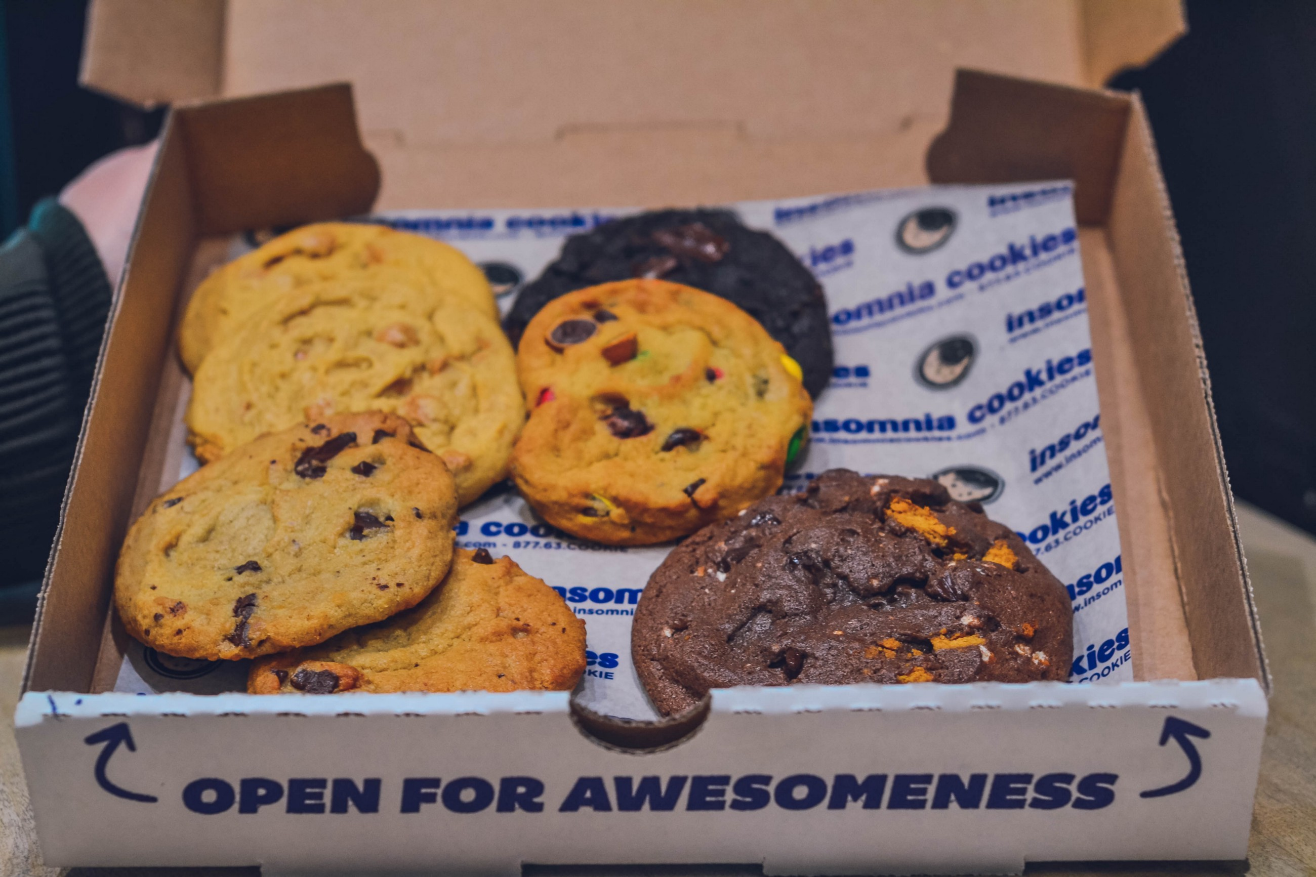 The Insomnia Cookies student marketing strategy