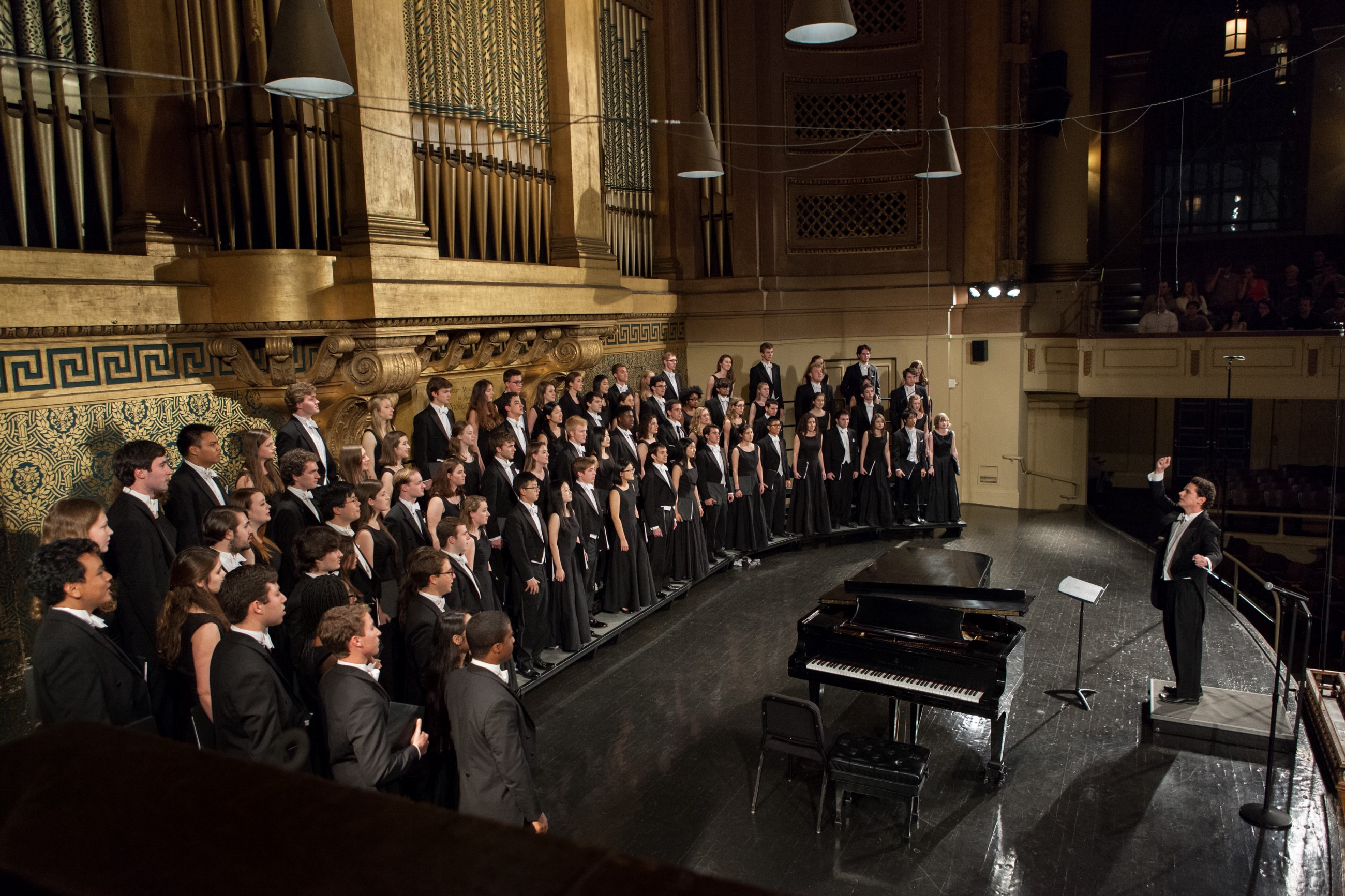 Classical Movements Presents Three American College Choirs In South
