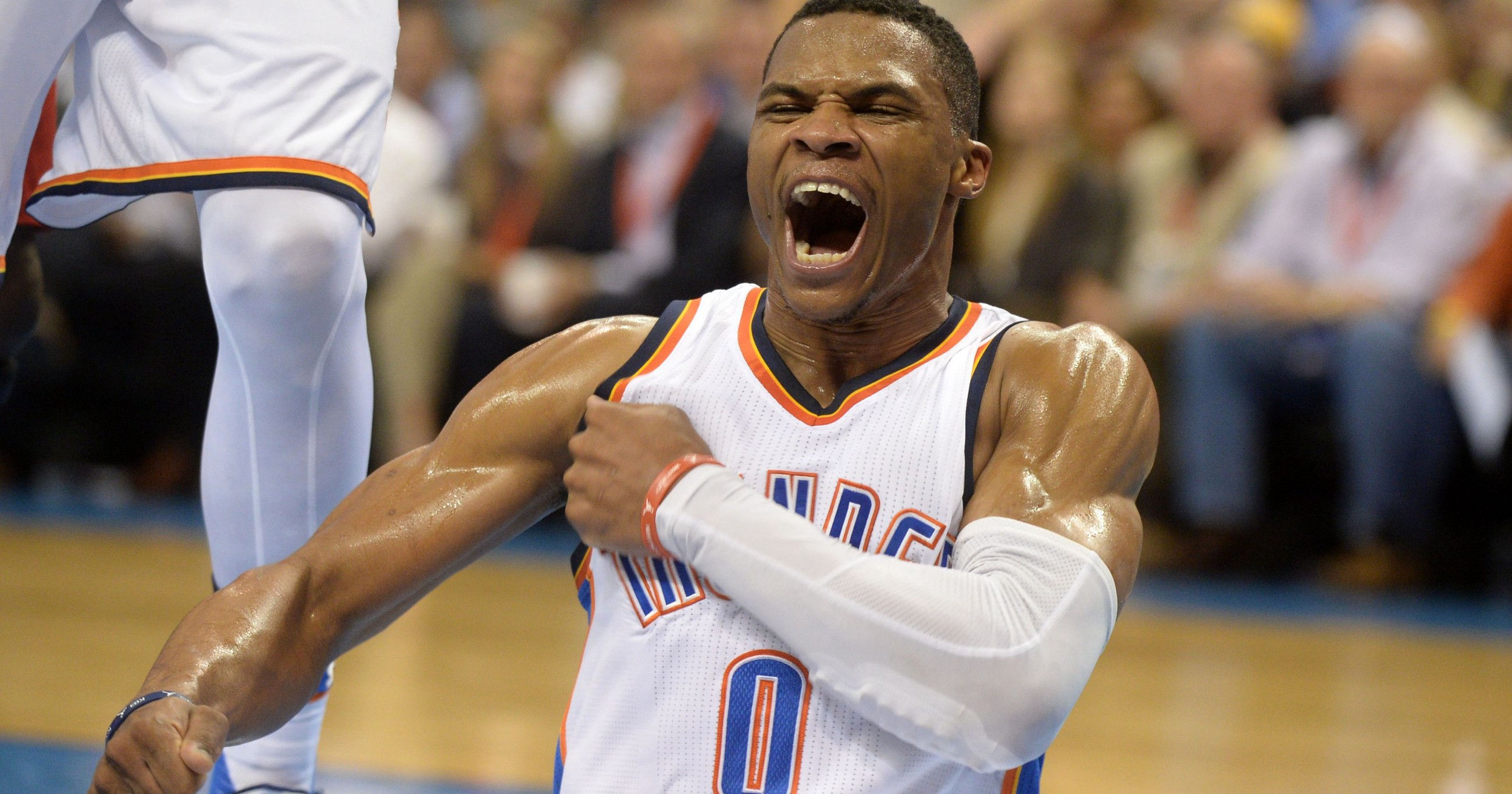 2c53de7bf9d A Series of Questions To Ask Russell Westbrook Before OKC — GSW Game