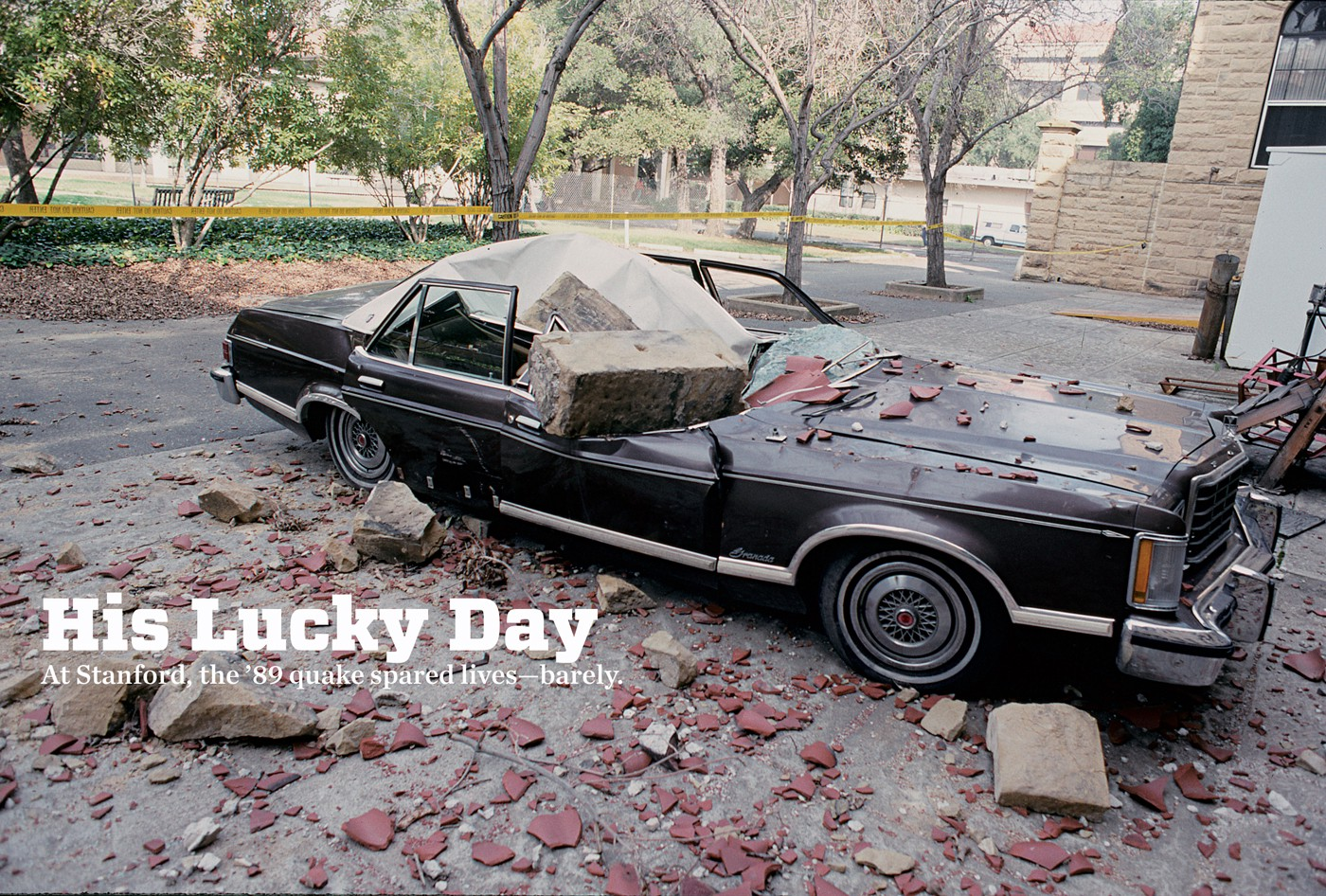 His lucky day