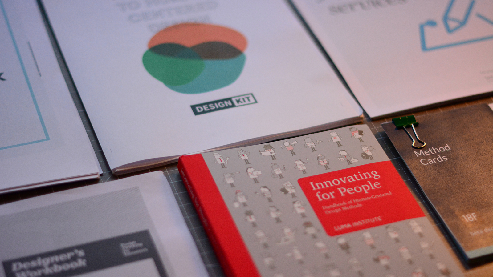 Useful methods, guides and tools for doing human-centred design