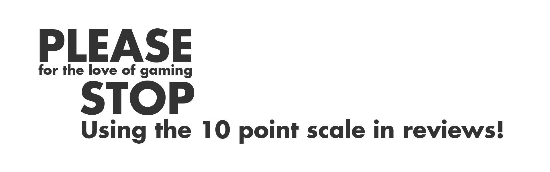 e097e7f916 The 10 Point Review Scale is Terrible – lonely_astronaut – Medium